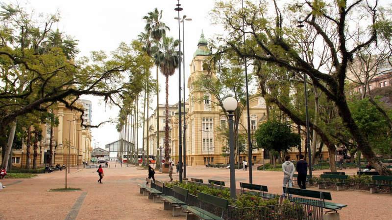 Praça da Alfândega RS