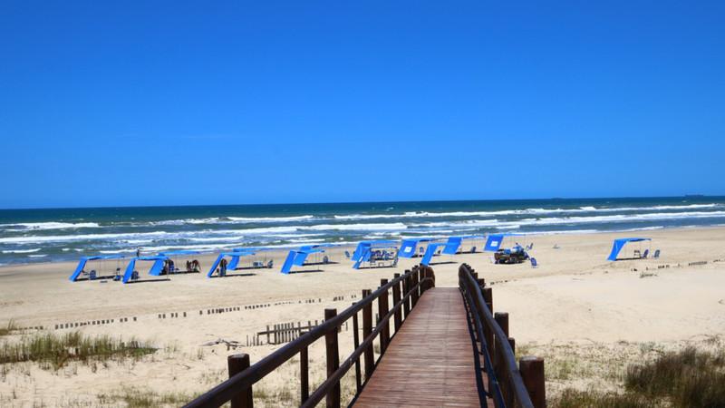 Praia Atlântida rs